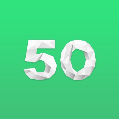50 major world markets