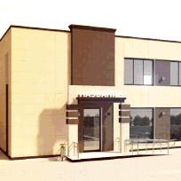 Эскизный проект здания