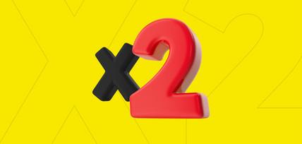 Икс два на все первые ставки